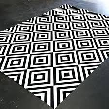 black white rug black white rug nz black white rug