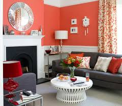 Contemporary Decorating Ideas For Living Room Captivating Red Room Ictcrop  Gal