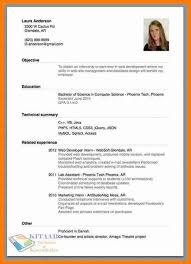 How To Make A Work Resume New 48 How To Make A Resume The Snohomish Times