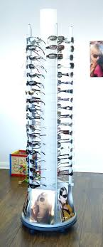Sunglasses Display Stands Uk Revolving sunglass stand Frame Display Rods Fixtures 2