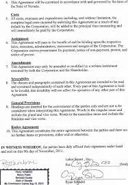 Shareholder Loanement Template It Resume Cover Letter Sample