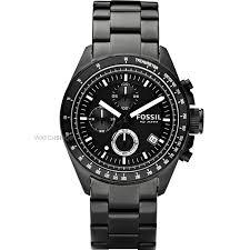 "men s fossil decker chronograph watch ch2601ie watch shop comâ""¢ mens fossil decker chronograph watch ch2601ie"