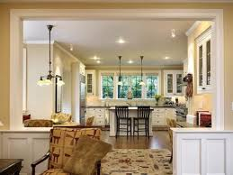 kitchen family room layout ideas or modern style decorating ideas with tv room furniture ideas plus