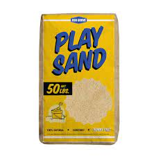 Ash Grove 50 Lb Play Sand 361 50 Ag The Home Depot Fire Pit Essentials Sand And Gravel Kids Play Area