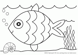 Fun Coloring Pages Fish Coloring Pages For Kids 58219