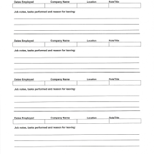 Blank Resume Form Blank Form Template Blank Resume Templates For