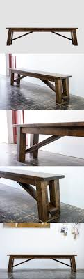Headboard Bench Plans Best 20 Rustic Bench Ideas On Pinterest Rustic Wood Bench