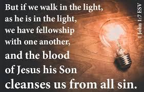 Image result for 1 john 1:7