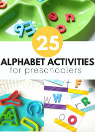 Abcd Chart In Hindi 25 Alphabet Activities For Kids No Time For Flash Cards