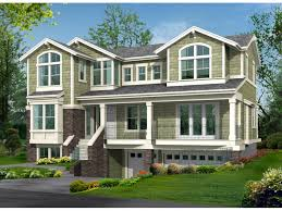 Pretty Inspiration Ideas  Ranch House Plans With Drive Under - House with basement garage