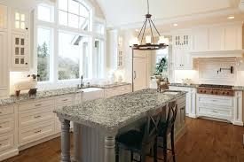 an open airy kitchen showcases elegant hanstone