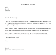 Gratitude Letter Template Download Blank Volunteer Thank You Letter Template Gratitude