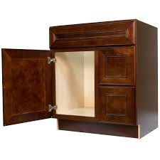 30 inch bathroom cabinet with drawers. 30-inch cherry mahogany leo saddle bathroom vanity cabinet l 30 inch with drawers