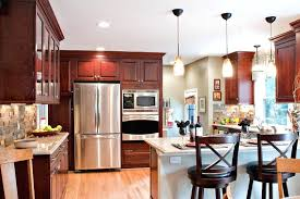 Kitchen Painting Ideas White Cabinets Kitchen With Cherry Cabinets