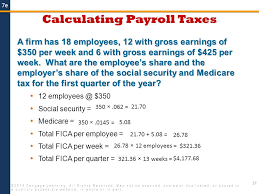 paycheck taxes calculator 2015 payroll 2014 cengage learning all rights reserved may not be