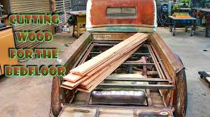 Wood for the Bed Floor (part 23) '47 FORD truck build - YouTube