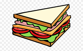 sandwich clipart. Brilliant Clipart Sandwich Half Clip Art  Clipart To C