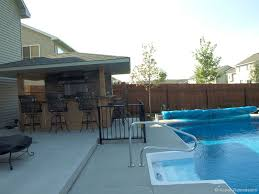 patio with pool and grill.  Pool Patio Pool Bar With Patio Pool And Grill N