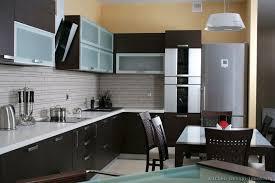 dark wood modern kitchen cabinets. Amazing Contemporary Dark Wood Kitchen Cabinets Modern Style M