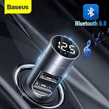 FLOVEME <b>USB Car Charger</b> For Phone <b>Bluetooth</b> Wireless FM ...