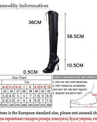 gdgydh 2018 fashion genuine leather over the knee boots winter women high heels winter shoes thigh