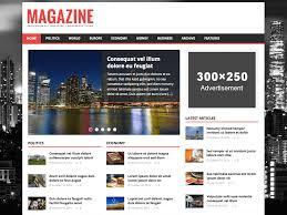 Wordpress Template Newspaper 25 Best Free Wordpress News Magazine Themes 2019