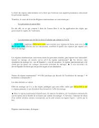 Notes Sur Le Droit Des R Gimes Matrimoniaux 3 Partie Docsity Droit Civil Les Effets Du Mariage