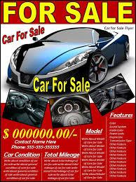 10 Car Sales Flyer Templates Free Printable Word Pdf