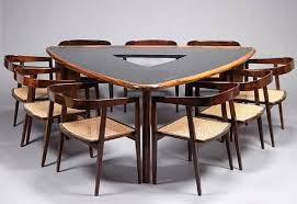 It is rather the best choice for the dining rooms, which are small enough.  You can set it in your kitchen as well. It occupies less space and does not  ...