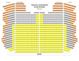 Mcalister Auditorium Seating Chart Seating Charts Spartanburg Philharmonic