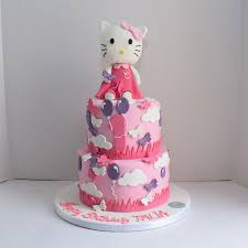 Big Hello Kitty Cake25 Persons Cake Bakery In Dubai