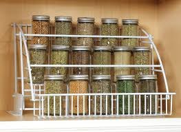 Spice racks that make the most of kitchen cabinet space