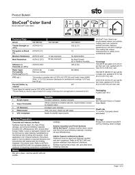 Sto Eifs Color Chart Stocoat Color Sand 80230 Sto Corp