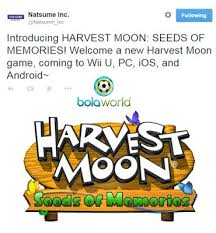 harvest moon seeds of memories online