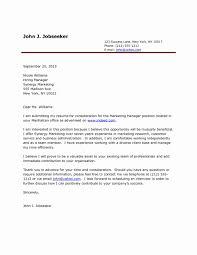 Example Cover Letter For Resume Elegant Sample Cover Letter Doc 8 In