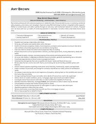 Realtor Resume Sample 100 realtor resume examples quit job letter 47