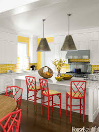 Yellow And Red Kitchen Popular Kitchen Paint And Cabinet Colors Colorful Kitchen Pictures