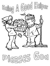 16 Best Images Of Being A Good Helper Worksheets Kindness Coloring