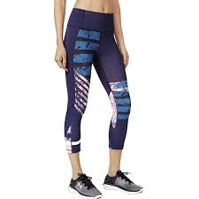 Under Armour Womens Mirror High Rise Printed Crop Amazon Co
