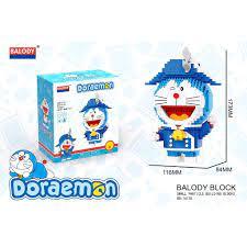 Đồ chơi xếp hình Lego doremon xếp hình đồ chơi trẻ em Doremon Nanoblock Mẫu  lắp ráp cho bé trai và bé gái, Giá tháng 4/2021