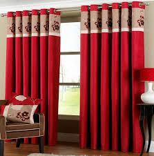 Amazoncom Lush Decor Flower Drop 84 X 42Inches Curtain Panel Red Curtain Ideas For Living Room