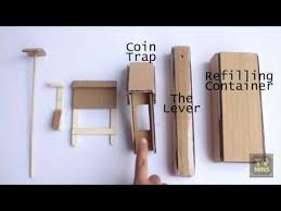 How To Make A Candy Vending Machine Out Of Cardboard Gorgeous How To Make A Candy Vending Machine Using Cardboard At Home Easy To