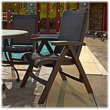 wicker folding chairs. Grosfillex Java Wicker Folding Chair. Click To Zoom · Espresso Chairs A