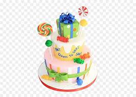 Birthday Cake Bánh Torte Cake Decorating Baby Gender Reveal Png