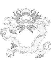 Chinese Draak Kleurplaat Gratis Kleurplaten Printen