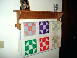 33 quilt rack plans wonderful quilt rack plans wall mounted small size of display mount luxuriant