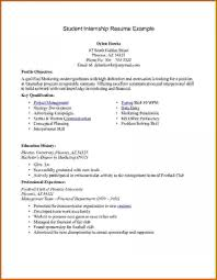 021 Resume Templates For Interns Template Ideas Digital Marketing