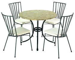 Bistro Chair Cushions Round And Table Comfy Inch Full Large Outdoor Cushion Set