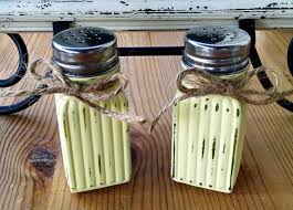 Decorative Pepper Bottles 100 best Shabby Chic Decorative Glass Jars Bottles and More 71
