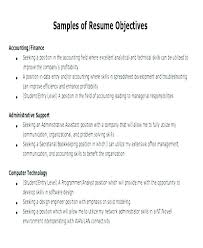 What To Put On Objective In Resume Best Objective To Write In Resume